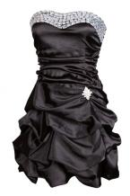 This short, black prom dress is one of our finest