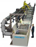 Automatic Tank Line for Parts Cleaning, Liquid Penetrant, and Surface Treatment