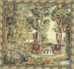 Villa Garden Classic Wall Tapestry