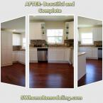 Complete remodel including upgrade plumbing and electric, flooring, cabinetry, countertops, and painting.