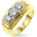 14K Gold Mens Rings
