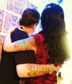 Couples Tattoo Image, Guys and Gals Tattoo, Guys and Dolls Tattoo,Cool Couple Tattoo,Beautiful Couple Tattoo,