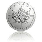Canadian Maple Leaf Silver Bullion Coin 9999 Fine Silver