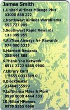 SkivalCard green Sample