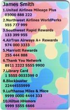 SkivalCard fantasy Sample