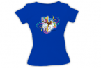 Bella Girl Crewneck T Shirt Bella