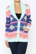 Buy wholesale women's colorful tribal cardigan online at wholesale prices