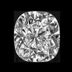 2.01 carat cushion cut diamond shape
