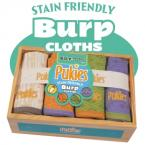 Pukies Organic Cotton, Soy Burp Cloths