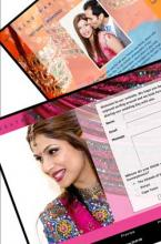 Gorgeous Flash wedding websites - Elegance Indian