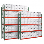 FastRak Archive Storage Starter Units with 24 in. Boxes