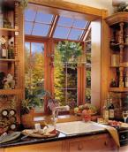 Garden Windows work especially well above your kitchen sink and in bathrooms allowing you to greatly improve your homes.