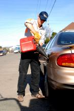 If you are stuck in the road out of gas-we can help you out !
