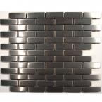stainless steel glass mosaic wall tile