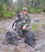 Hog Hunting  in Florida.