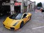 Lamborghini Gallardo Black Roof Wrap