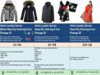 Dry Cleaning Service for winter jackets, Winter wear and down jackets