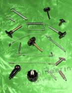 Pull Pins, Pop Pins, Detent Pins, T Handle Pins, Plungers, Locking Pins, Plastic Knobs