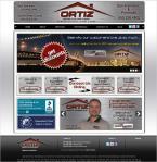 Ortiz Heating AC Website. Services: Custom Web Design + SEO Services