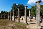 PALAESTRA (3rd cent. B.C.), OLYMPIA