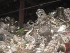 Recycle aluminium scrap