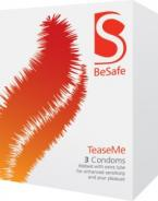 Gently enveloped in silky lubricant and with a subtle but effective texture to heighten sensation for women, Tease Me condoms ar