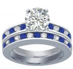 This matching engagment set is one of our best selling items.