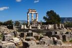 THE THOLOS OF ATHENA PRONAIA (380 B.C.), DELPHI THE THOLOS OF ATHENA PRONAIA (380 B.C.), DELPHI