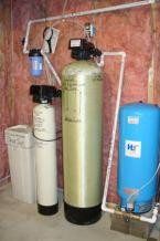 New Well Tank, Heavy Duty Acid Neutralizer, 32,000 grain Water Softener and GAC (carbon) Post Filter
