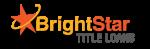 BrightStar Car Title Loans Norwalk Logo