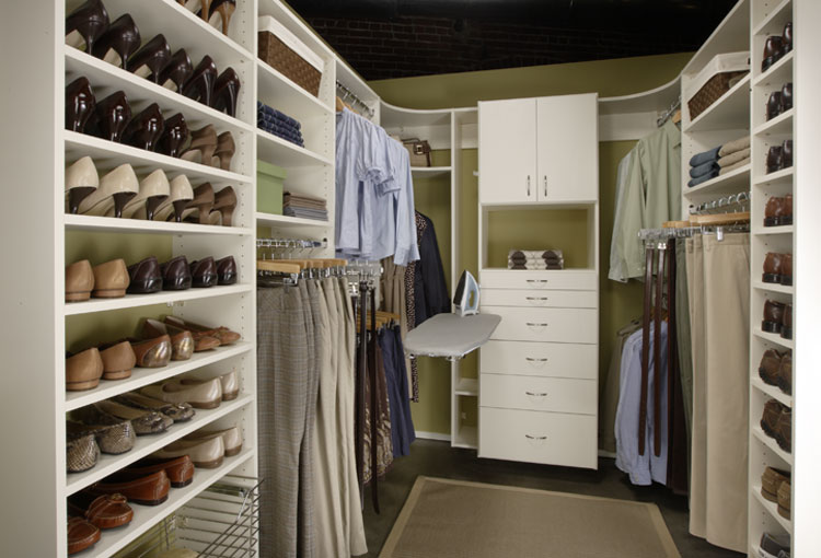 New jersey custom closets - Shoe organizers for small spaces design ...