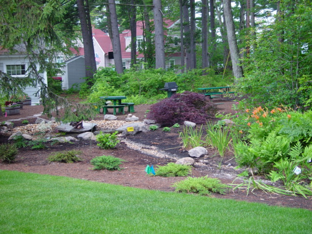 New Hampshire backyard landscaping  Landscape By Tom Design