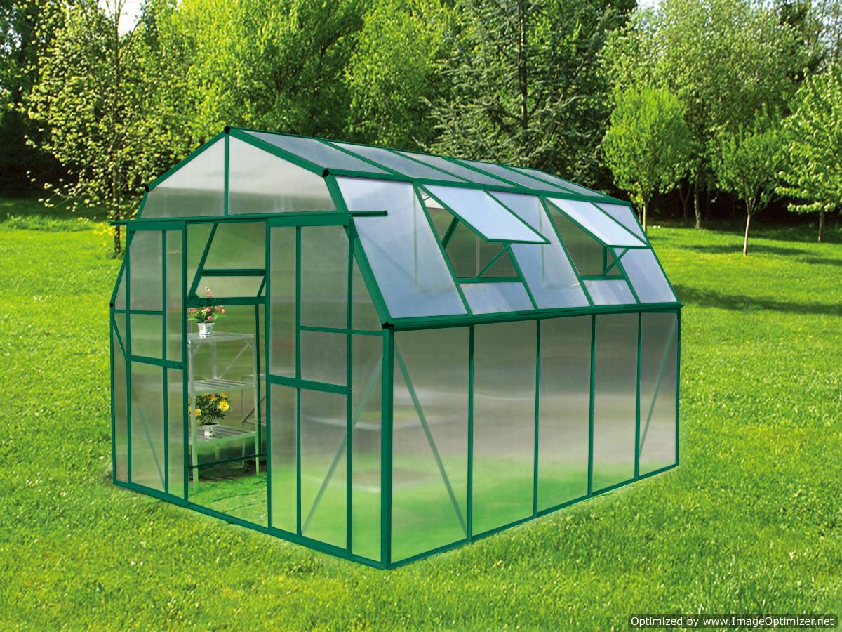 Earthcare greenhouses for Green home building kits