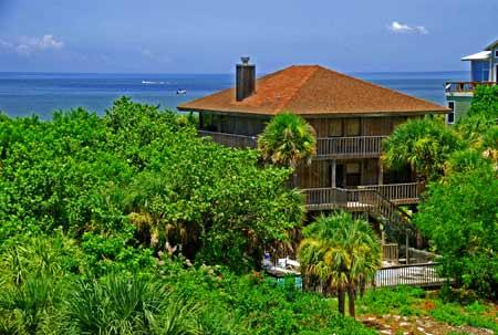 Building A House On North Captiva Island